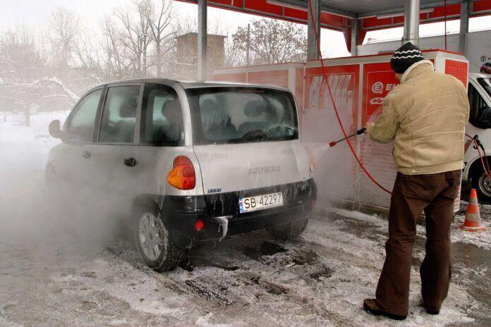 Czy zimą można umyć samochód 05