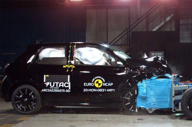 Euro NCAP 2020 Honda e
