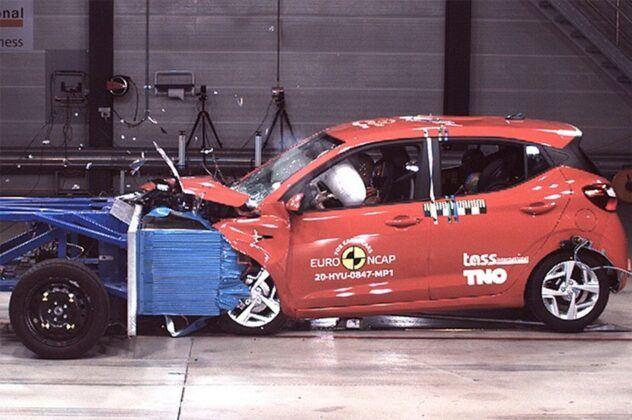 Euro NCAP 2020 Hyundai i10