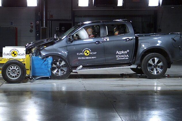 Euro NCAP 2020 Isuzu D-Max