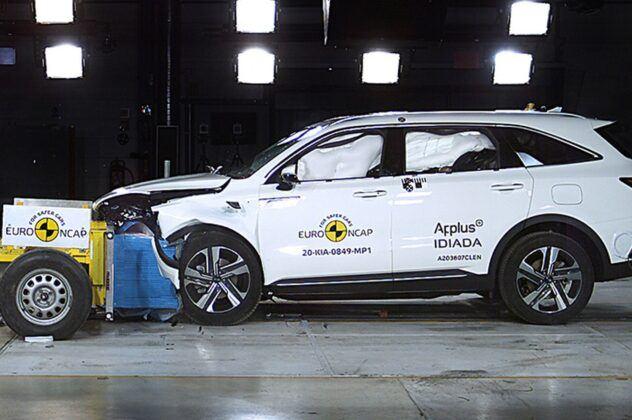 Euro NCAP 2020 Kia Sorento