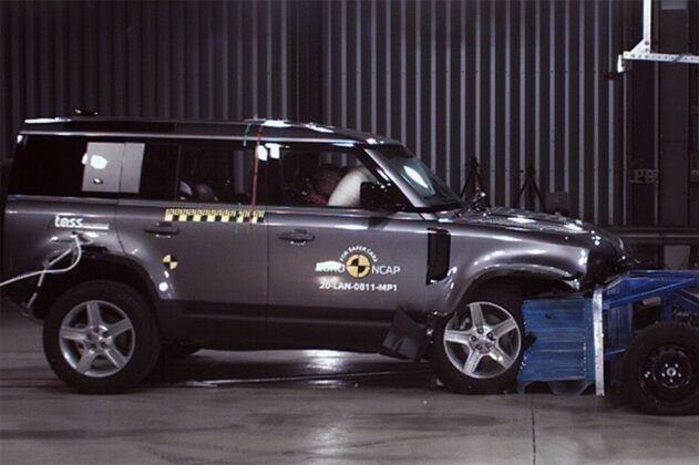 Euro NCAP 2020 Land Rover Defender