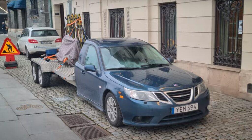 Saab 9-3 Pick-up