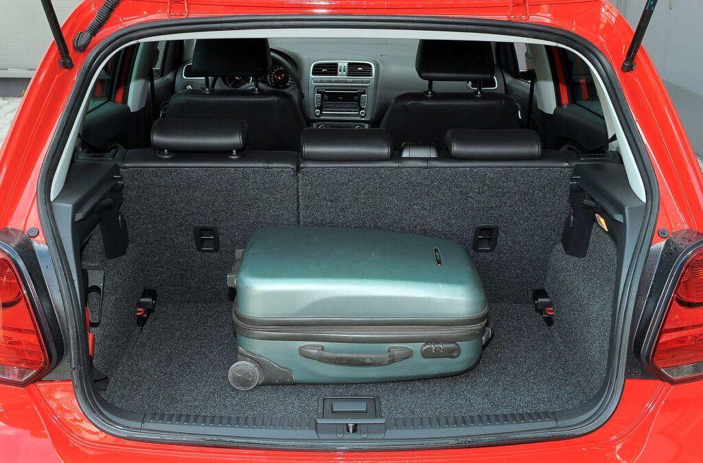 Volkswagen Polo bagażnik