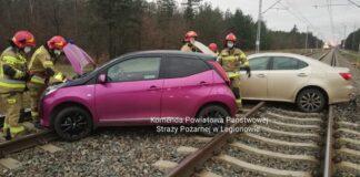 Zdjęcie wypadku na torach