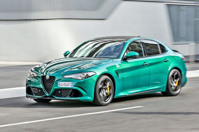 Alfa Romeo Giulia Quadrifoglio (2020)