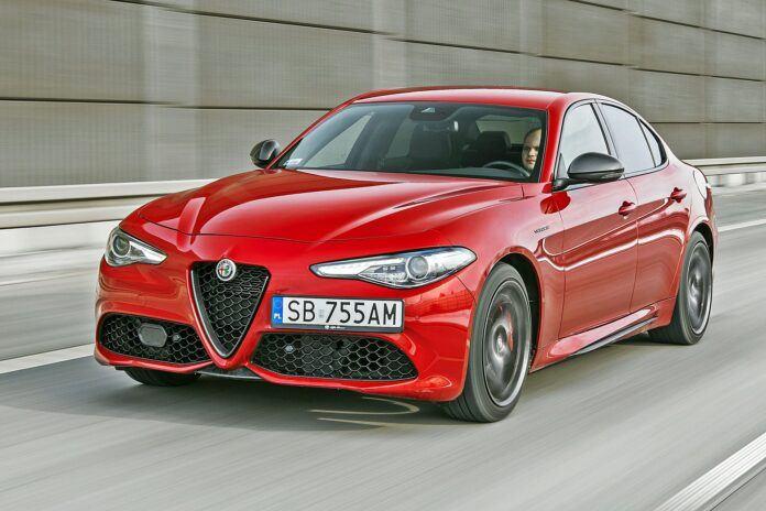 Alfa Romeo Giulia - przód
