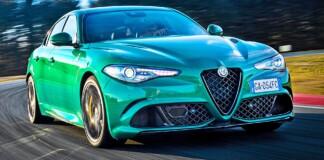 Alfa Romeo Giulia QV - przód