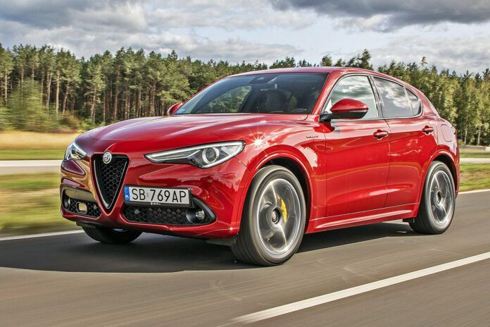 Alfa Romeo Stelvio - przód