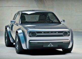 """Alpha Ace Coupe – nowy """"elektryk"""" w stylu retro"""