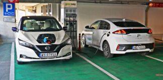 Nissan Leaf - Hyundai Ioniq Electric