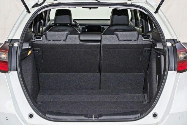 Honda Jazz - bagażnik