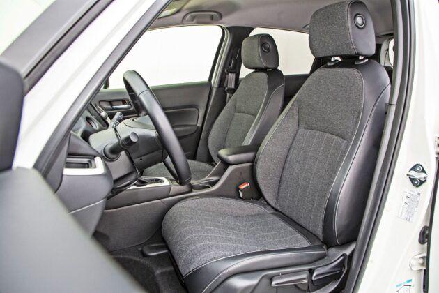 Honda Jazz - fotele przednie