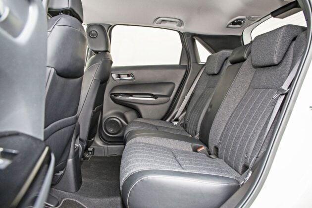 Honda Jazz - tylna kanapa