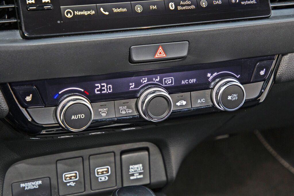 Honda Jazz - klimatyzacja