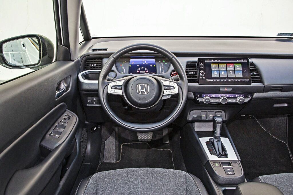 Honda Jazz - deska rozdzielcza