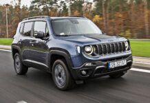 Jeep Renegade 4xe - przód