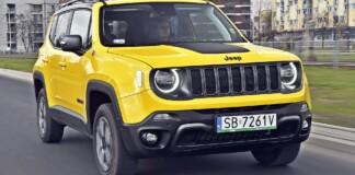 Jeep Renegade - przód