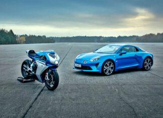 Alpine A110 jako... motocykl. Nowy jednoślad od MV Agusta