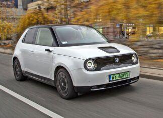 Elektryczna Honda e (2021). Opis wersji i cennik