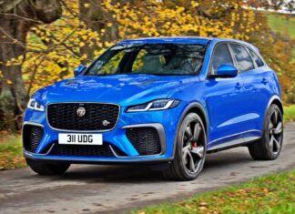 Nowy Jaguar F-Pace SVR – jeszcze szybszy i bardziej luksusowy