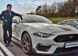 Richard Hammond testuje nowego Mustanga Mach 1. Co o nim sądzi?