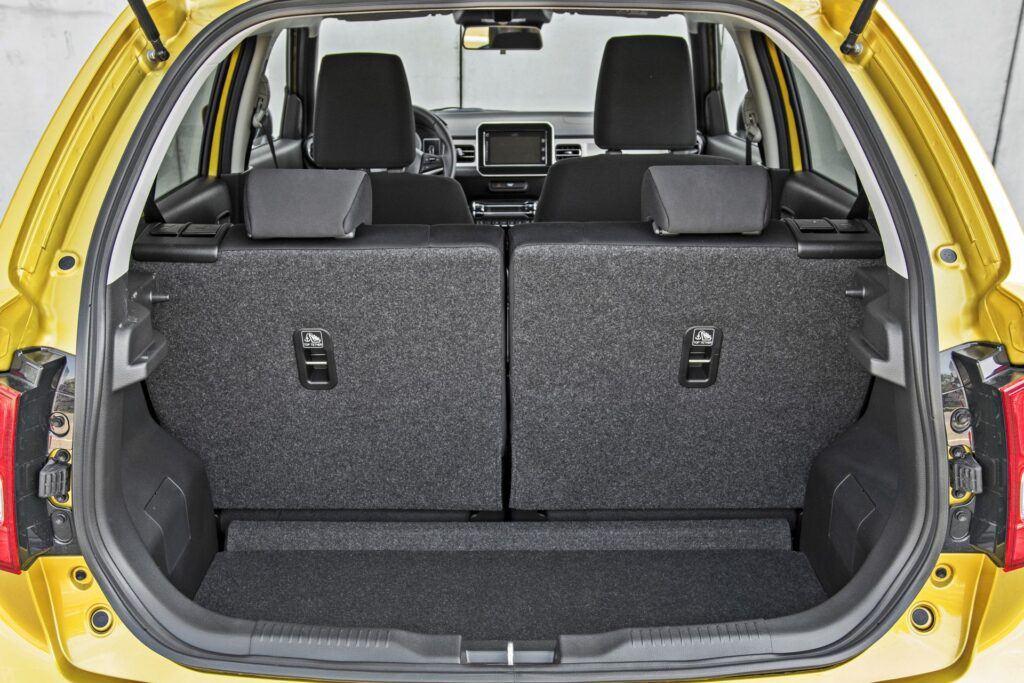 Suzuki Ignis - bagażnik