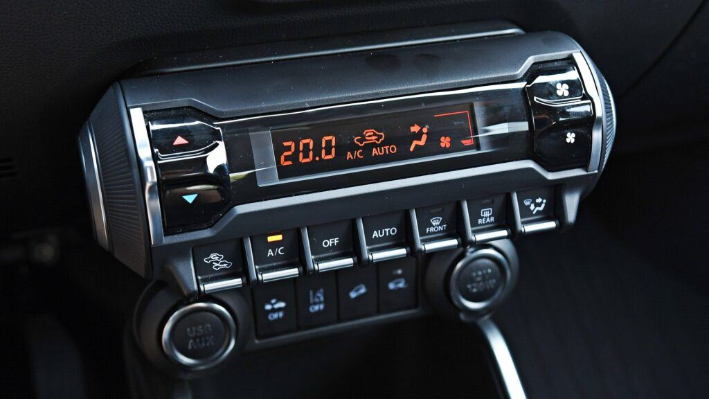 Suzuki Ignis - klimatyzacja