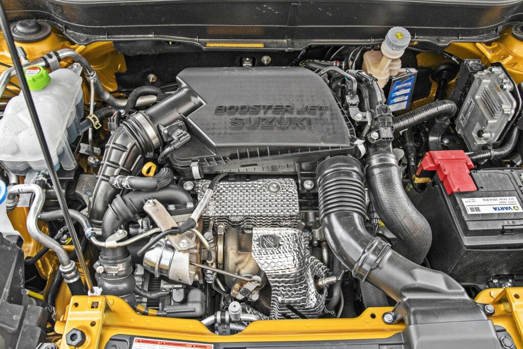 Suzuki Vitara Hybrid - silnik