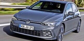 VW Golf GTD - przód