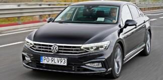 VW Passat - przód