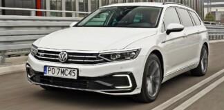 VW Passat GTE - przód