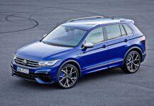 VW Tiguan R - przód