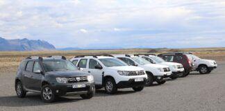 Dacia Duster na Islandii