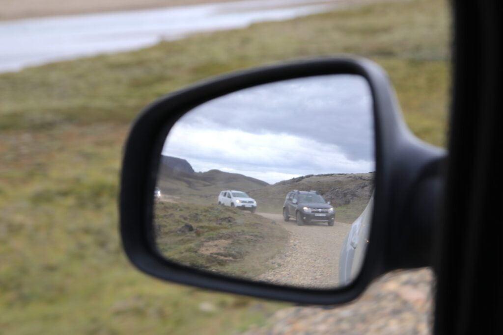 Dacia Duster na Islandii - droga F26