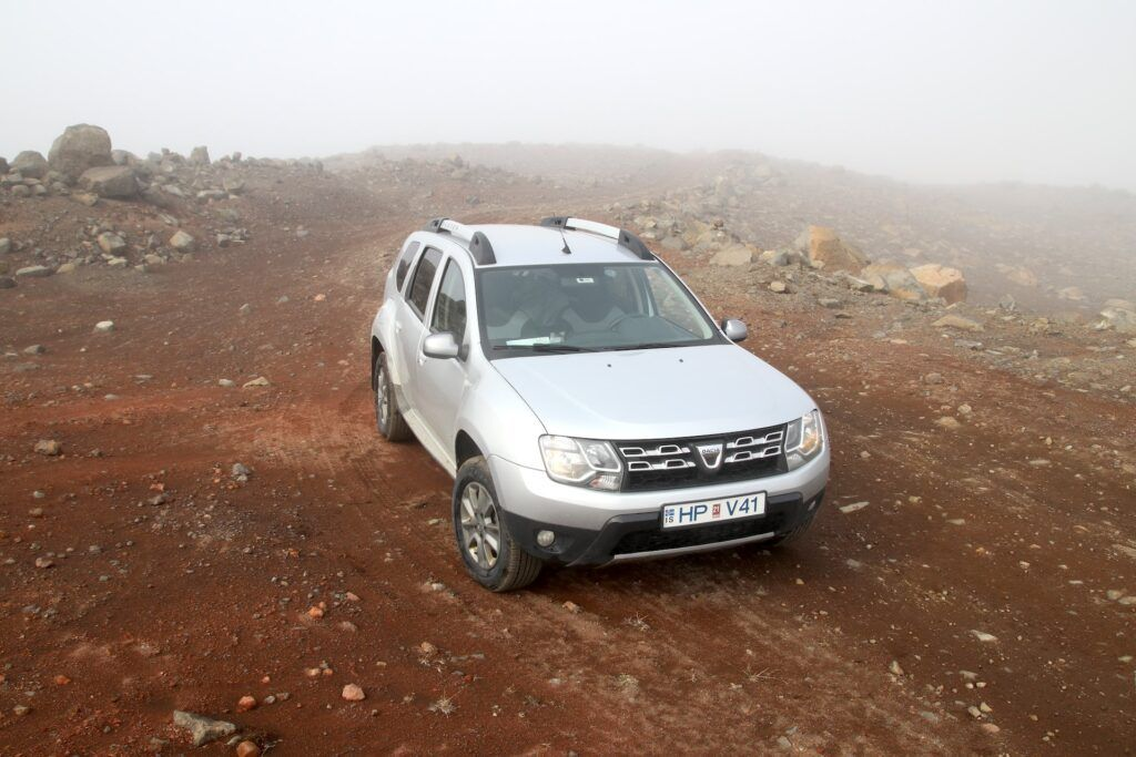 Dacia Duster - najlepsze drogi na Islandii