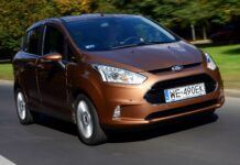 FORD B-Max Titanium 1.4 90KM 5MT WE490EK 09-2012