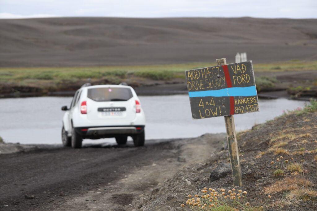 Islandia - brod rzeczny