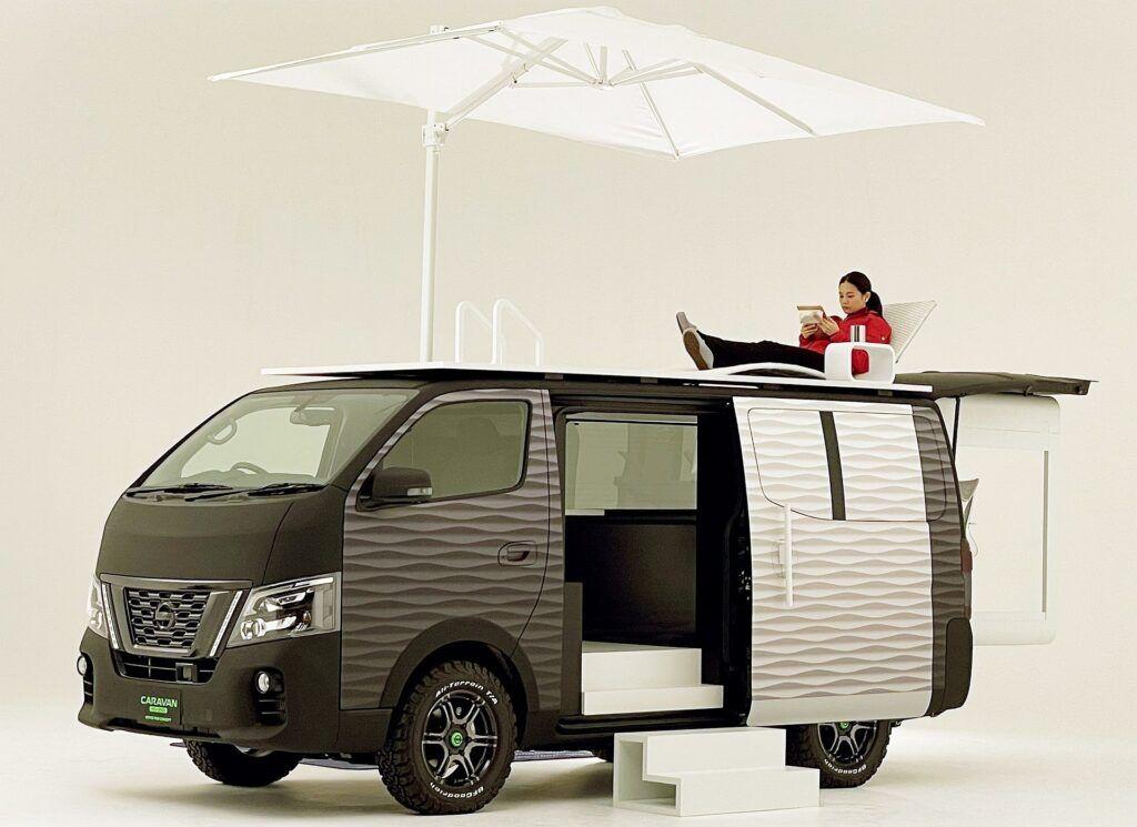 Nissan NV350 Office Pod (fot. Nissan)