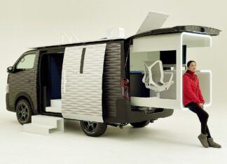 Nissan NV350 Office Pod – marzenie osób pracujących zdalnie?