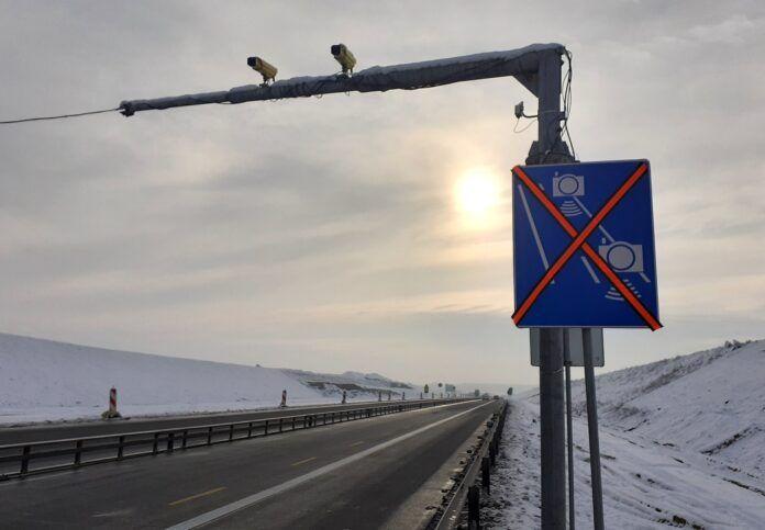 Odcinkowy pomiar na autostradzie