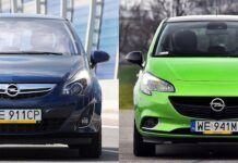 Opel Corsa D i Corsa E