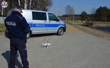 Policja - dron