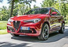 Alfa Romeo Stelvio QV - przód