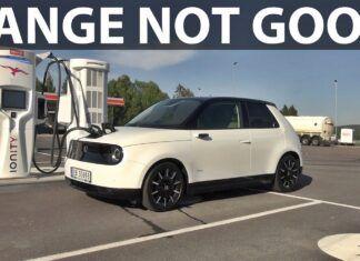 Honda e – test zużycia prądu w trasie