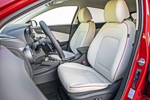 Hyundai Kona - fotele przednie