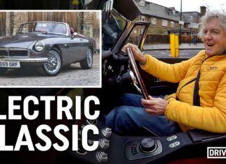 James May testuje elektryczne MG. Co o nim sądzi?