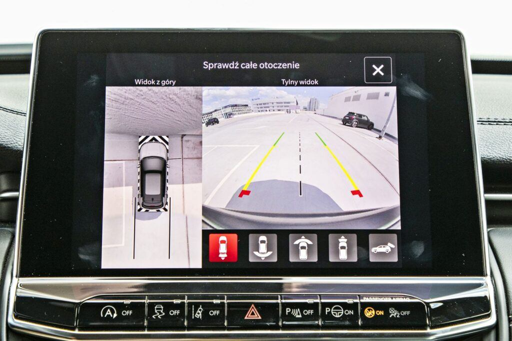 Jeep Compass - system kamer 360