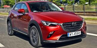 Mazda CX-3 - przód