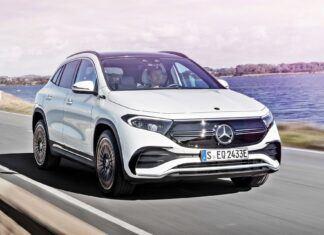Nowy Mercedes EQA – oficjalne zdjęcia i informacje